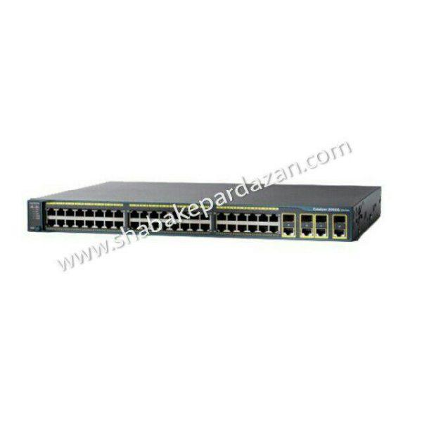 سوئیچ شبکه ws-c2960g-48tc-l