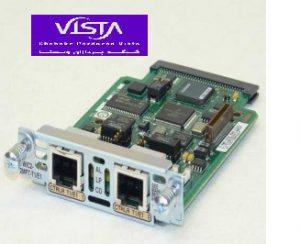 ماژول شبکه سیسکو VWIC2-2MFT-T1-E1