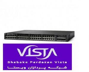 سوئیچ شبکه سیسکو 48 پورت WS-C3650-48TS-E