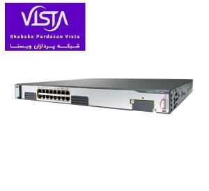 سوئیچ شبکه سیسکو 16 پورت WS-C3750G-16TD-E