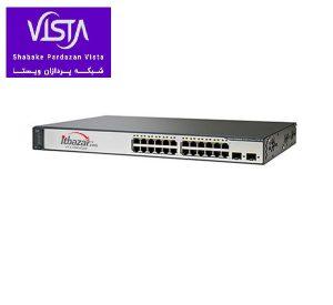 سوئیچ شبکه سیسکو 24 پورت WS-C3750V2-24TS-E