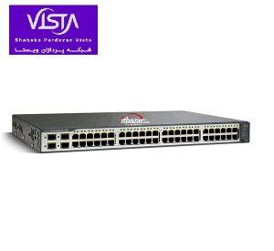 سوئیچ شبکه سیسکو 48 پورت WS-C3750V2-48TS-E