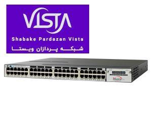 سوئیچ شبکه سیسکو 48 پورت WS-C3750X-48PF-L