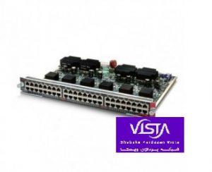 ماژول سوئیچ شبکه سیسکو WS-X4548-GB-RJ45V