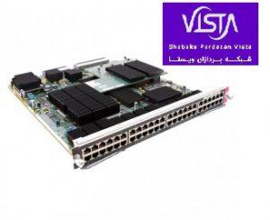 ماژول شبکه سیسکو WS-X6748-GE-TX 48Port