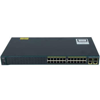 سوئیچ شبکه سیسکو WS-C2960-24PC-S